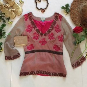 ❤Plenty By Tracy Reese Top❤